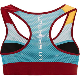 La Sportiva Captive Sports Bra Women malibu blue/berry